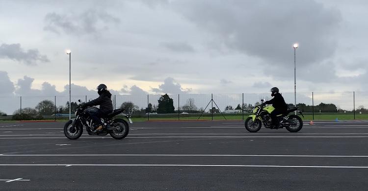 Piste Moto Guiclan #permismoto